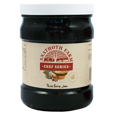 Anathoth Farm Chef Series Three Berry Jam