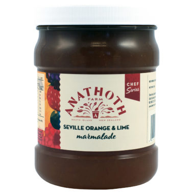 Anathoth Farm Chef Series Seville Orange & Lime Marmalade 1.25kg