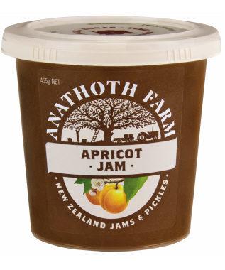 PRODUCT apricot jam