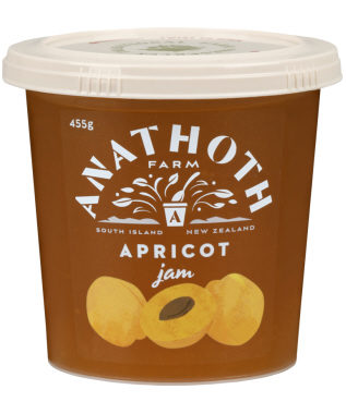 Anathoth Farm Apricot Jam