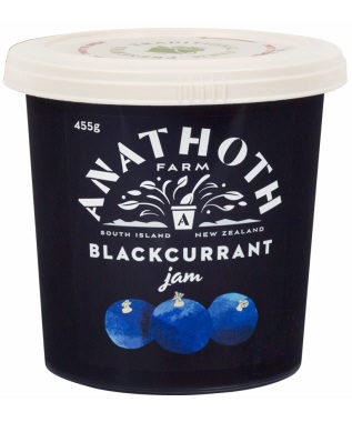 Anathoth Farm Blackcurrant Jam