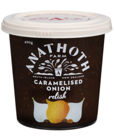 Anathoth Farm Caramelised Onion Relish