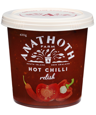 Anathoth Farm Hot Chilli Relish