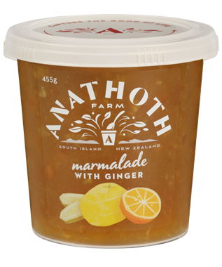 Anathoth Farm Marmalade with Ginger