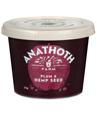 Anathoth Farm Plum & Hemp Seed Preserve