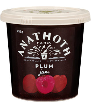 Anathoth Farm Plum Jam