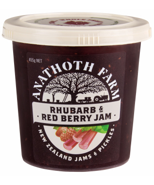 Rhubarb & Red Berry Jam