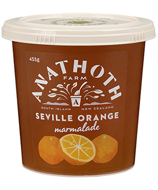 Anathoth Farm Seville Orange Marmalade