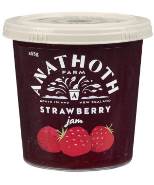 Anathoth Farm Strawberry Jam