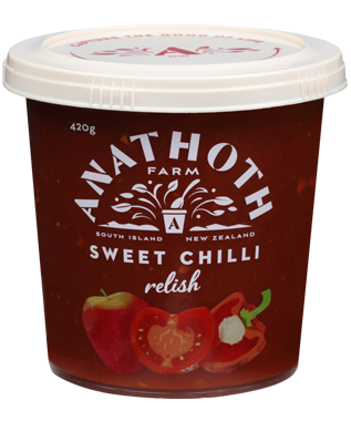 Anathoth Farm Sweet Chilli Relish