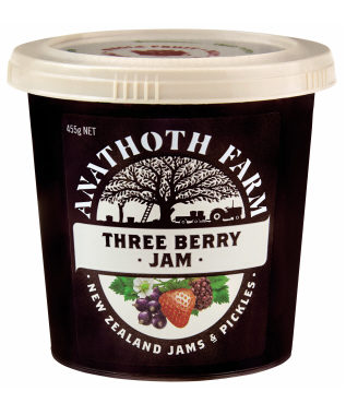 Three Berry Jam