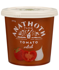 Anathoth Farm Tomato Relish