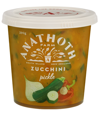 Anathoth Farm Zucchini Pickle