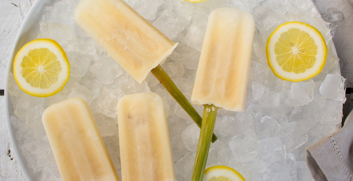 Lemon Curd & Coconut Ice Blocks