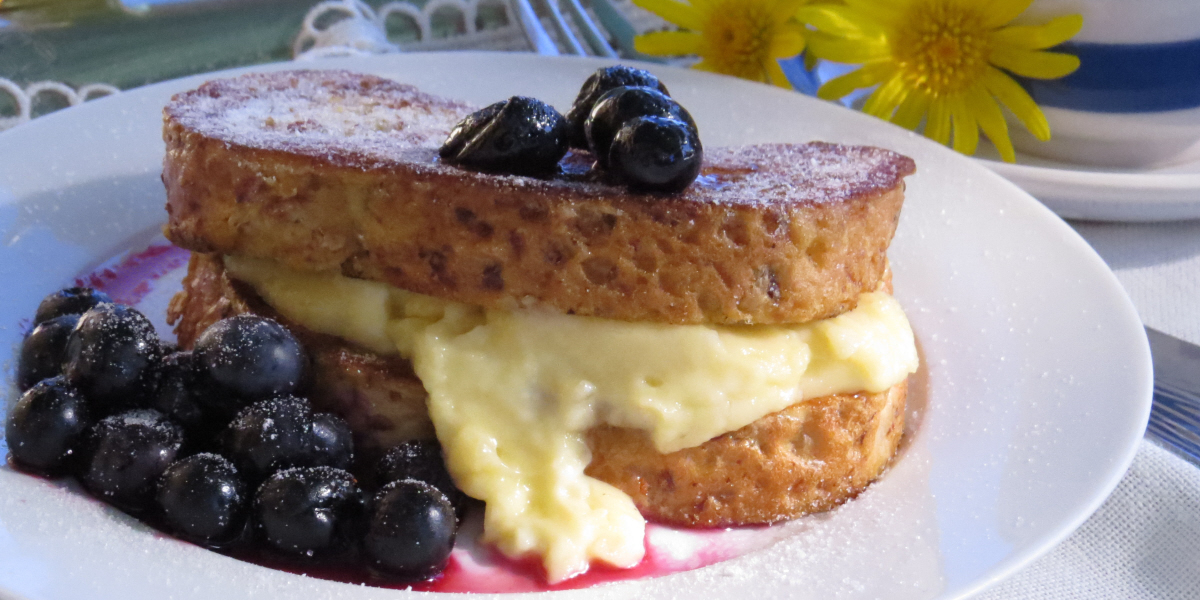 Lemon Curd French Toast