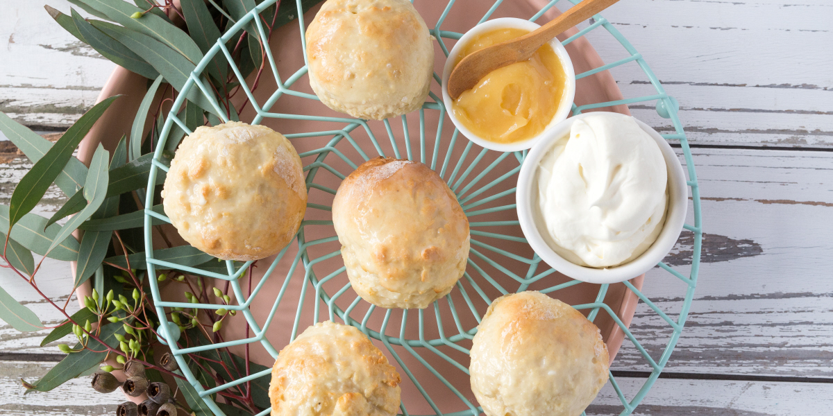 lemon curd scones