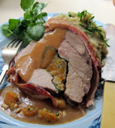 stuffed lamb